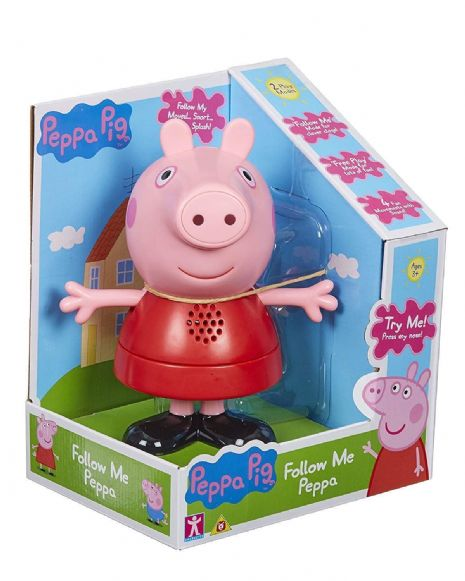 Peppa Pig - FOLLOW ME PEPPA - 4 Fun Movements With Sounds - NEW